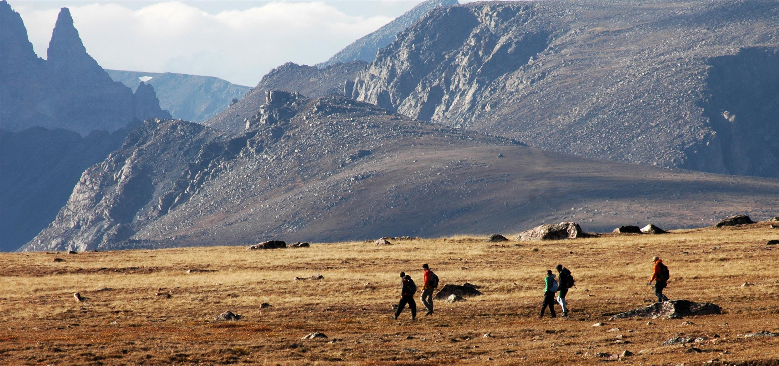 Beartooth Mountain Ranges